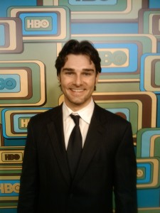 Kevin Myers Actor/Model - Kevin Myers attends the HBO after party at the Golden Globes