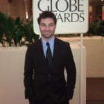 Kevin Myers Golden Globes Red Carpet