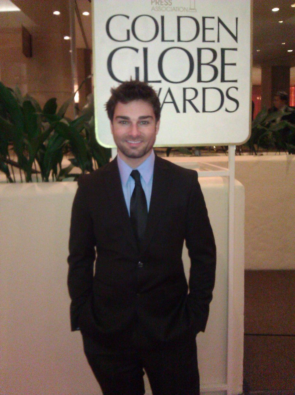 Kevin Myers Attends Golden Globes